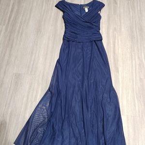 Alex Evenings Royal Blue Gown size 8